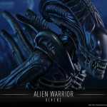 Alien Warrior par Hot Toys : images officielles