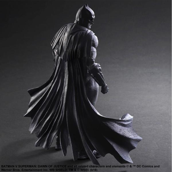 Batman Play Arts Kai (Black & White Version) Batman v Superman: Dawn of Justice
