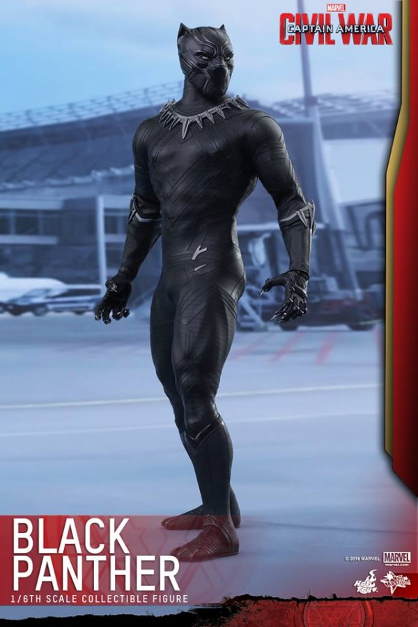 Captain America:CW - 1/6th scale Black Panther CCaptain America:CW - 1/6th scale Black Panther Collectible Figure.ollectible Figure.