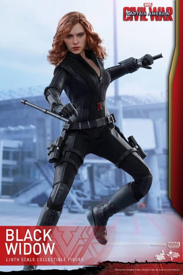 Black Widow CA: Civil War HOT TOYS