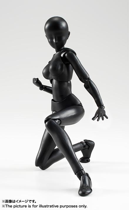 S.H.Figuarts Solid Black Color