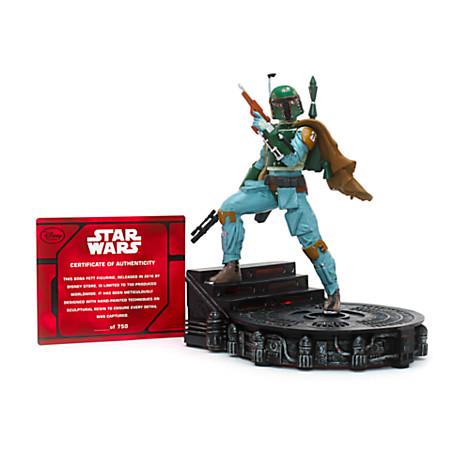 Boba Fett Star Wars résine en édition limitée 750 exemplaire monde eclu DIisneyStore