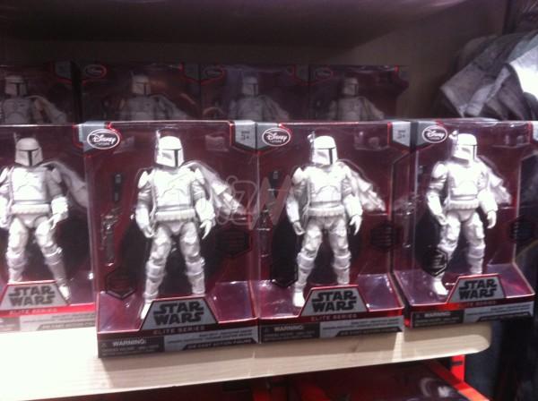BOBA FETT prototype armor Disneystore Star Wars Elite Series