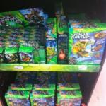 Dispo en France : Tortues Ninja Mega Bloks, DC Super Hero Girls, Batman etc...