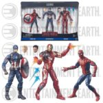 Civil War : un pack de 3 figurines Marvel Legends