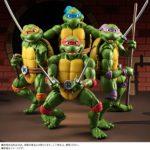 TMNT S.H. Figuarts : figurines  Michelangelo et Raphael en images