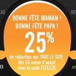 25% de réduction chez Captainfigurines.fr pour la fête des pères