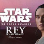 Star Wars Mini Bust Rey par Gentle Giante