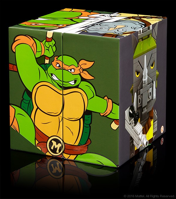 Kubros TMNT Michelangelo vs. Rocksteady Special Edition Set – $25