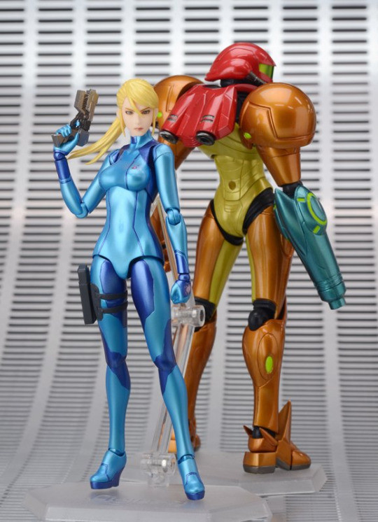 Figma  Samus Aran Zero Suit. Metroid: Other M -