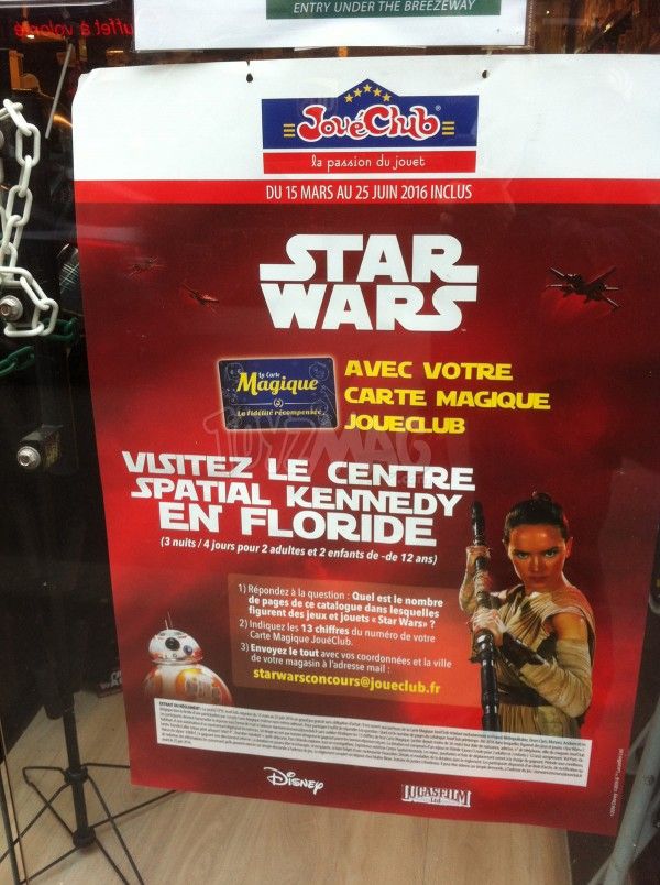 Village JouéClub PARIS  boutique Star Wars