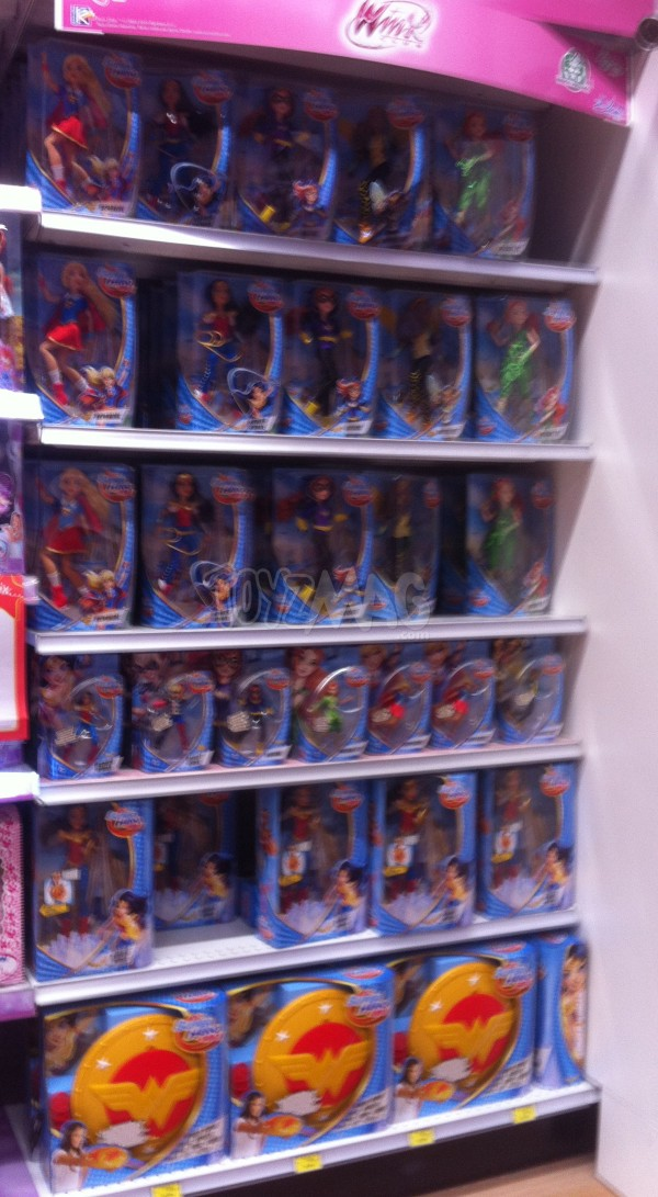 DC Super Hero Girls MATTEL