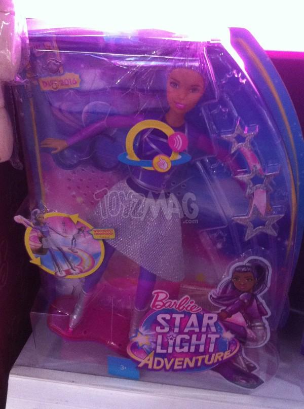 poupée Barbie Star Light Adventure Aventures dans les étoiles MATTEL