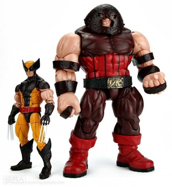 Marvel LEgends Build a Figure Juggernaut FLEAU