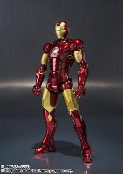 Tamashiinations-Bandai-SHFiguarts-Iron-Man-Mark3-1