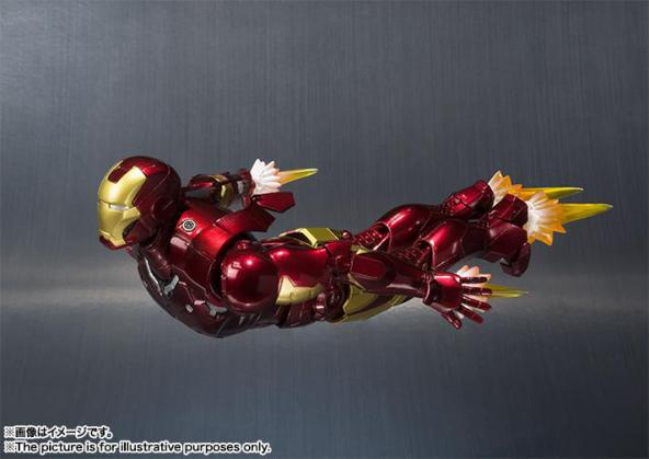Tamashiinations-Bandai-SHFiguarts-Iron-Man-Mark3-4