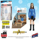 SDCC : figurines exclu Big Bang Theory-Star Trek