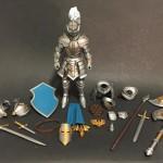 Mythic Legions : un chevalier et un barbare arrivent