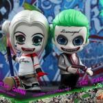 Cosbaby Suicide Squad – Joker & Harley Quinn par Hot Toys