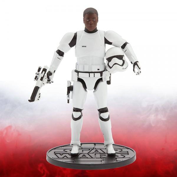 Figurine miniature Finn Stormtrooper 16,5 cm de la série Élite, Star Wars