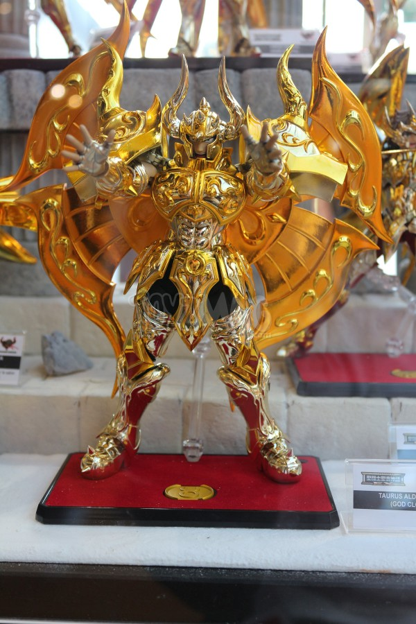 JapanExpo2016 : Saint Seiya Myth Cloth et MCex - Stand Tamashii Nations
