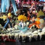 Japan Expo 2016 : vitrine Dragon Ball – Stand Tamashii Nations
