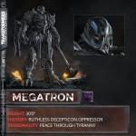 Transformers The Last Knight Megatron est de retour !