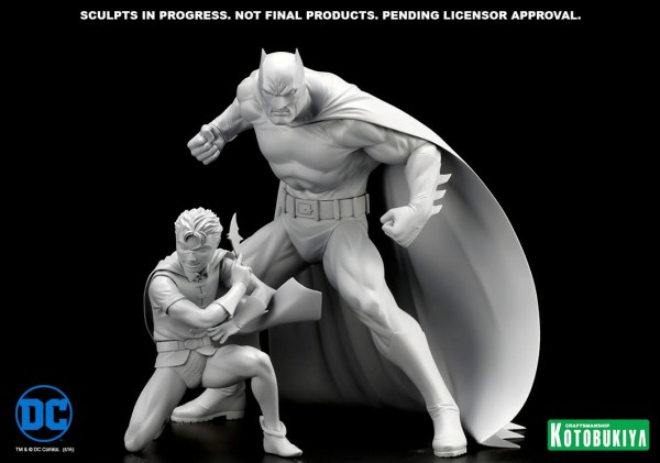 Kotobukiya Batman & Robin ARTFX+ statues from Batman & Robin: The Boy Wonder!