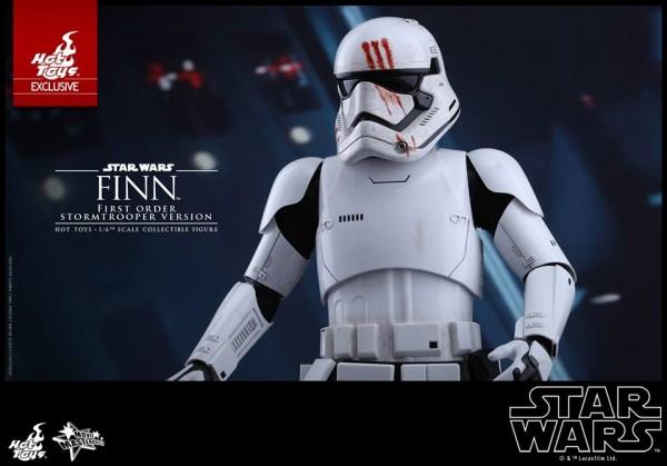 Star Wars: TFA - 1/6th scale Finn (First Order Stormtrooper Ver.).