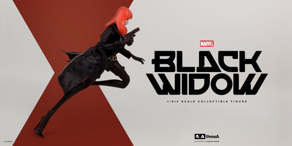 Marvel x ThreeA Presents: BLACK WIDOW – 1/6th Scale Collectible Figure