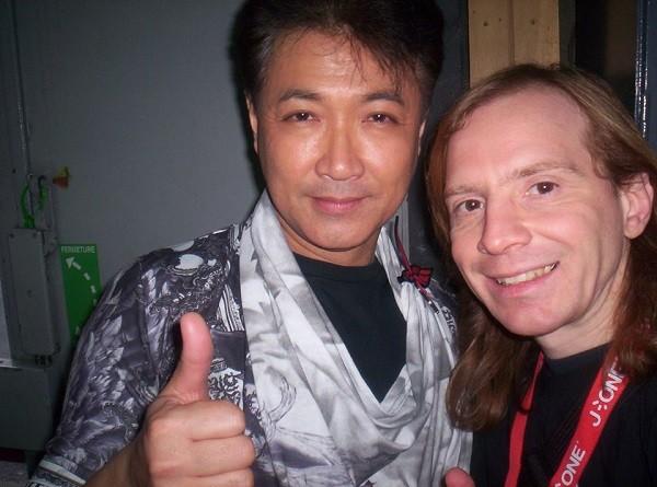 avec Hiroshi Watari