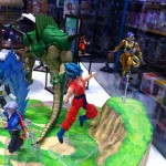 Showroom Tamashii Nations à Manga Story Paris  : Dragon Ball Z, Saint Seiya