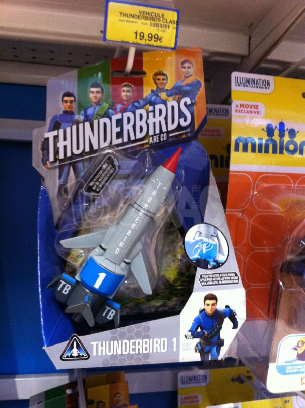 jouet et figurine Thunderbirds are GO
