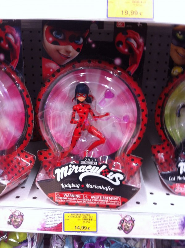 jouet et figurine Miraculous, les aventures de Ladybug et Chat Noir