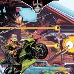 MASK #1  la couverture officielle du comic et sa variante
