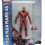 Marvel Select Iron Man Mark 46  et Carnage