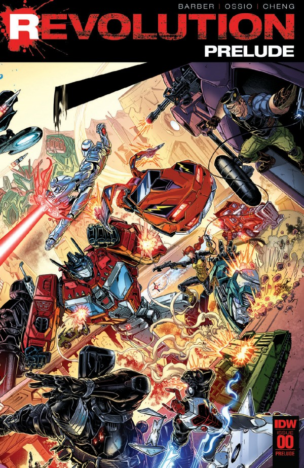 PREVIEW: REVOLUTION #1 IDW
