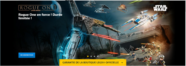 Jouet LEGO STAR WARS ROGUE ONE PAS CHER ! reduction lego