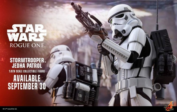 Stormtrooper Jedha Patrol HOT TOYS