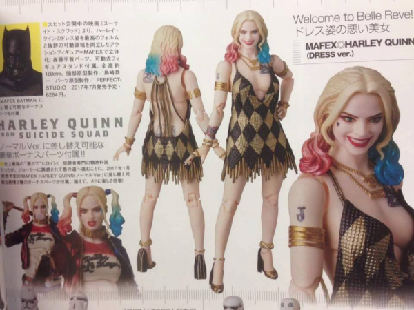 Mafex Harley Quinn dress vers - Suicide Squad