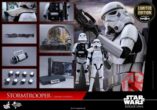 Rogue One - 1/6th Stormtrooper Jedha Patrol (TRU Exclu) par Hot Toys