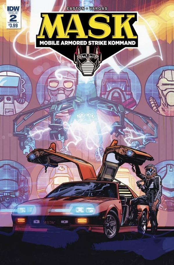 Les covers pour le comic MASK N°2