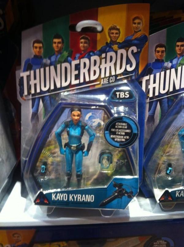 Thunderbirds figuirine Kayo Kyrano