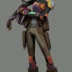 Star Wars Rebels : review figurine Sabine Wren