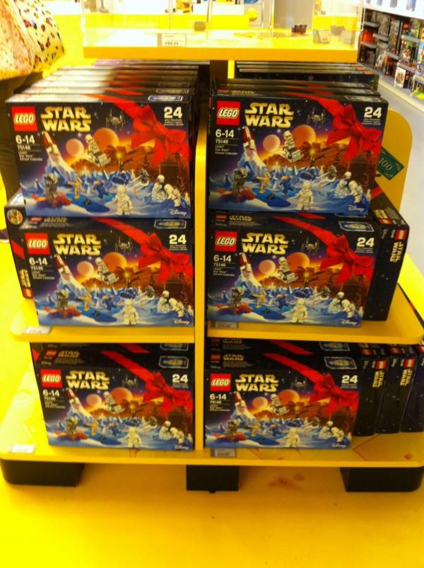 Calendrier de l'avant Lago Star Wars est disponible