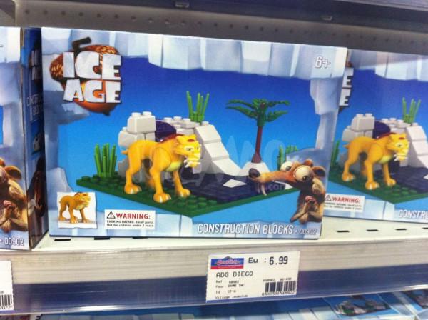 brique de lego age des glaces
