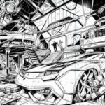 M.A.S.K – 2 nouvelles planches du comics d'IDW