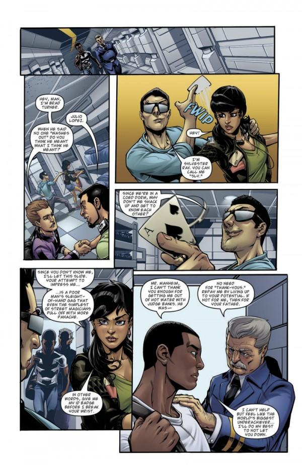 Preview 4 pages de M.A.S.K.: Revolution No. 1