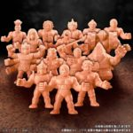 Retour des figurines Kinkeshi Kinnikuman ( Cosmix Muscleman)