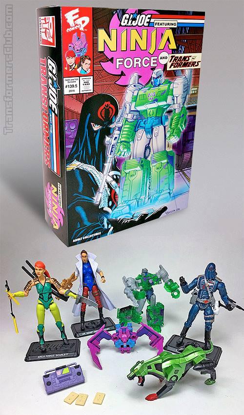 G.I. Joe/Transformers Collectors' Club Crossover